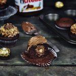 Nutella Rocher Cupcakes