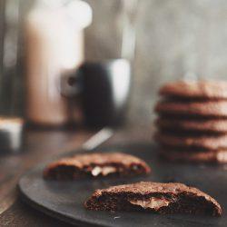 Cookie mit Nutellakern