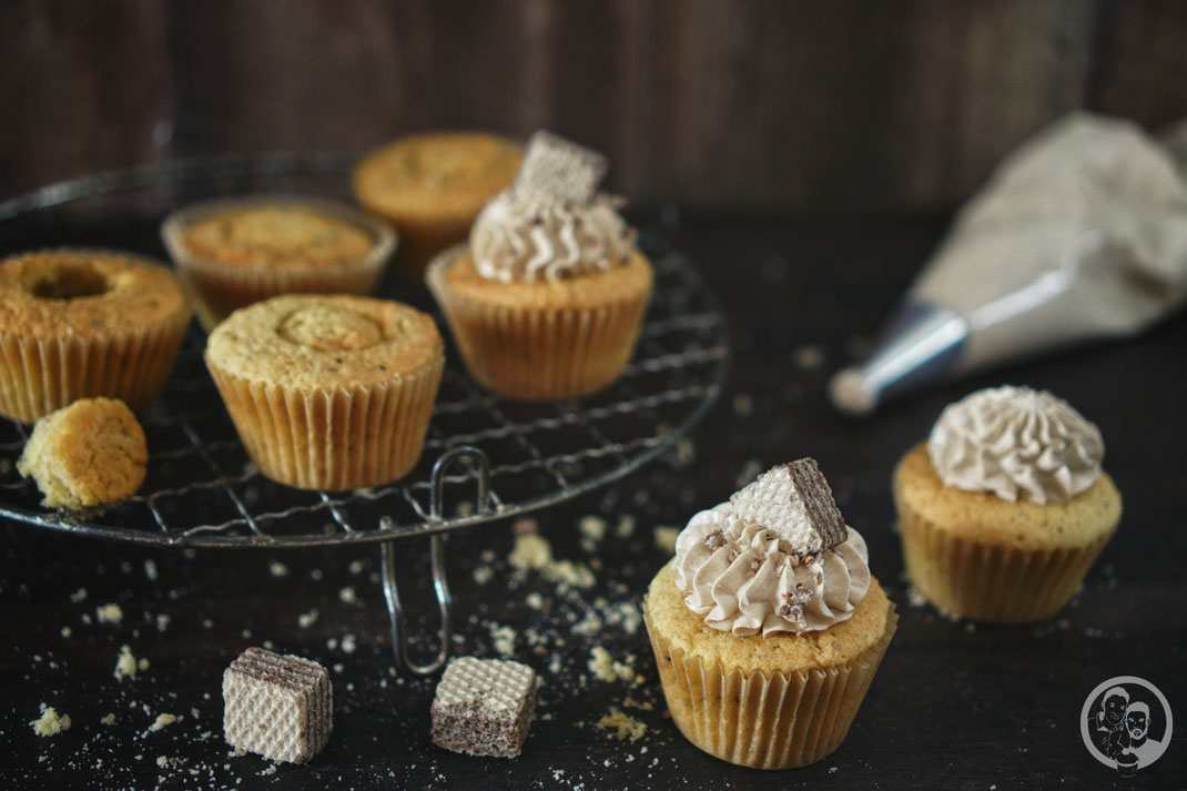 Haselnuss Cupcakes