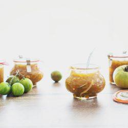 grüne tomaten chutney rezept foodblog blog köln 1 | Bei Torstens Mama steht ein kleinesGewächshaus im Garten. Darin befinden sich hauptsächlich Tomaten.