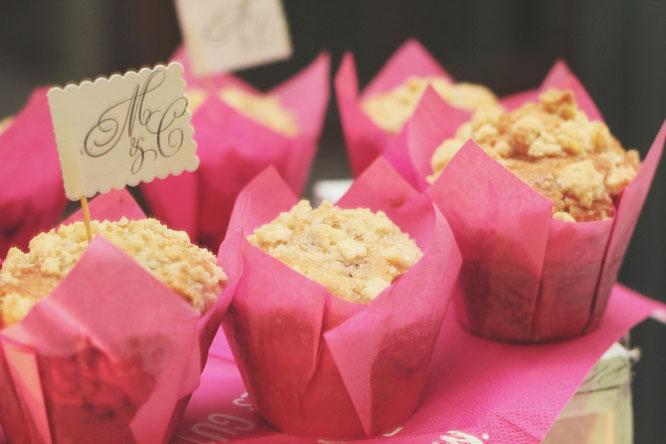 himbeer streusel muffins 3 | Die Muffins schmecken am Besten, wenn sie für ein paar Stunden im Kühlschrank durchgezogen sind, aber noch lauwarm sind sie auch ein Schmaus ;-)