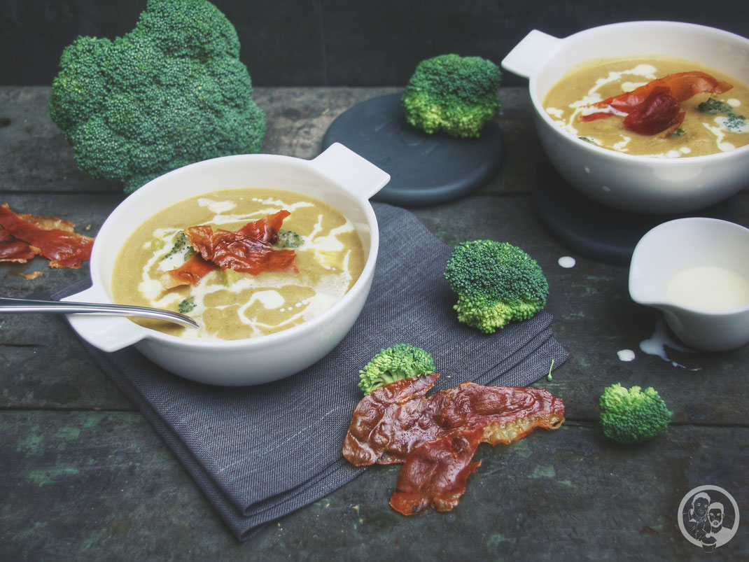 Rauchige Broccoli-Cremesuppe