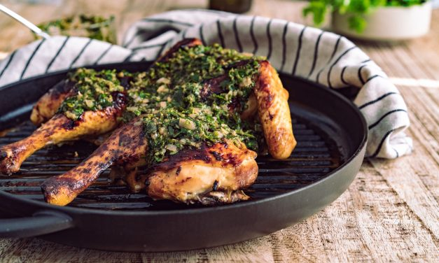 Roadkill Chicken mit Chimichurri