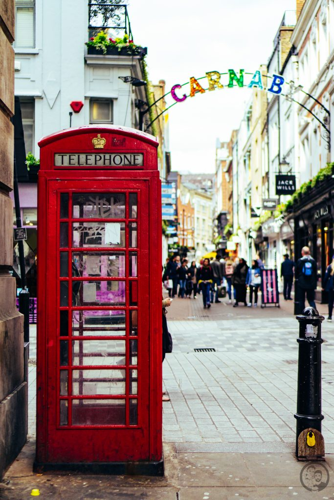 London rote Telefonzelle