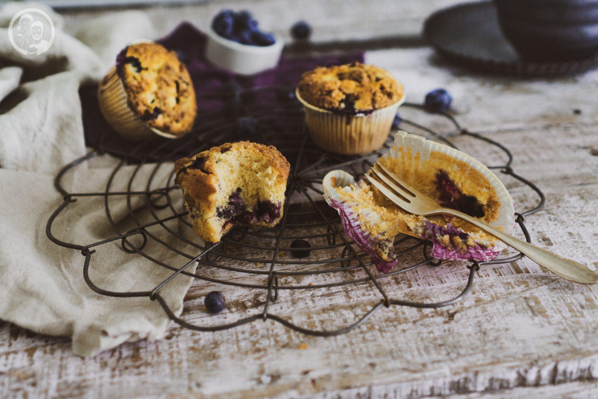 Muffins auf Backrost