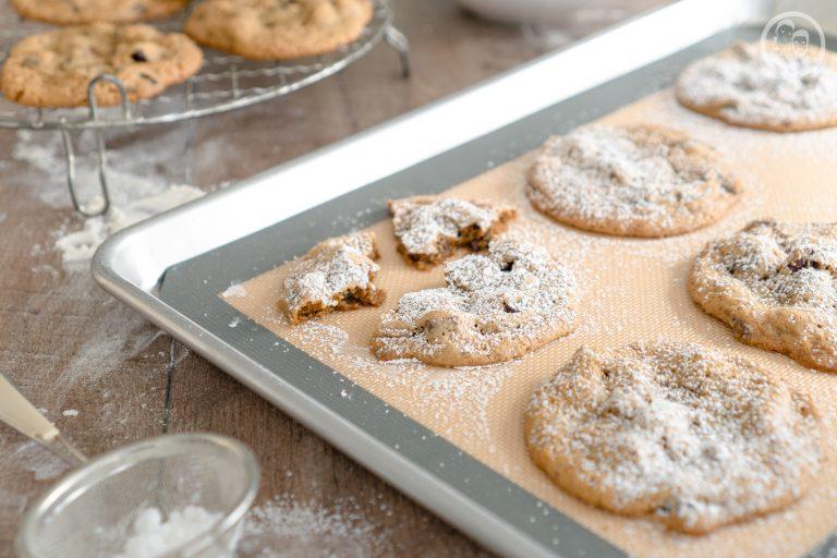 Cookies auf Blech
