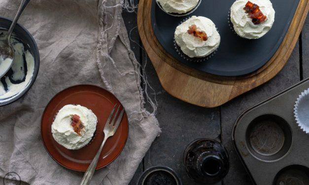 Schoko-Schwarzbier Cupcakes