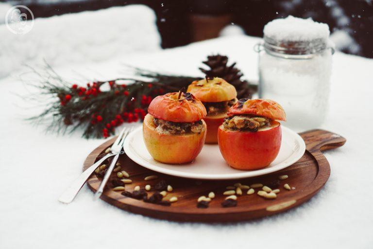 Bratapfel mit Calvados