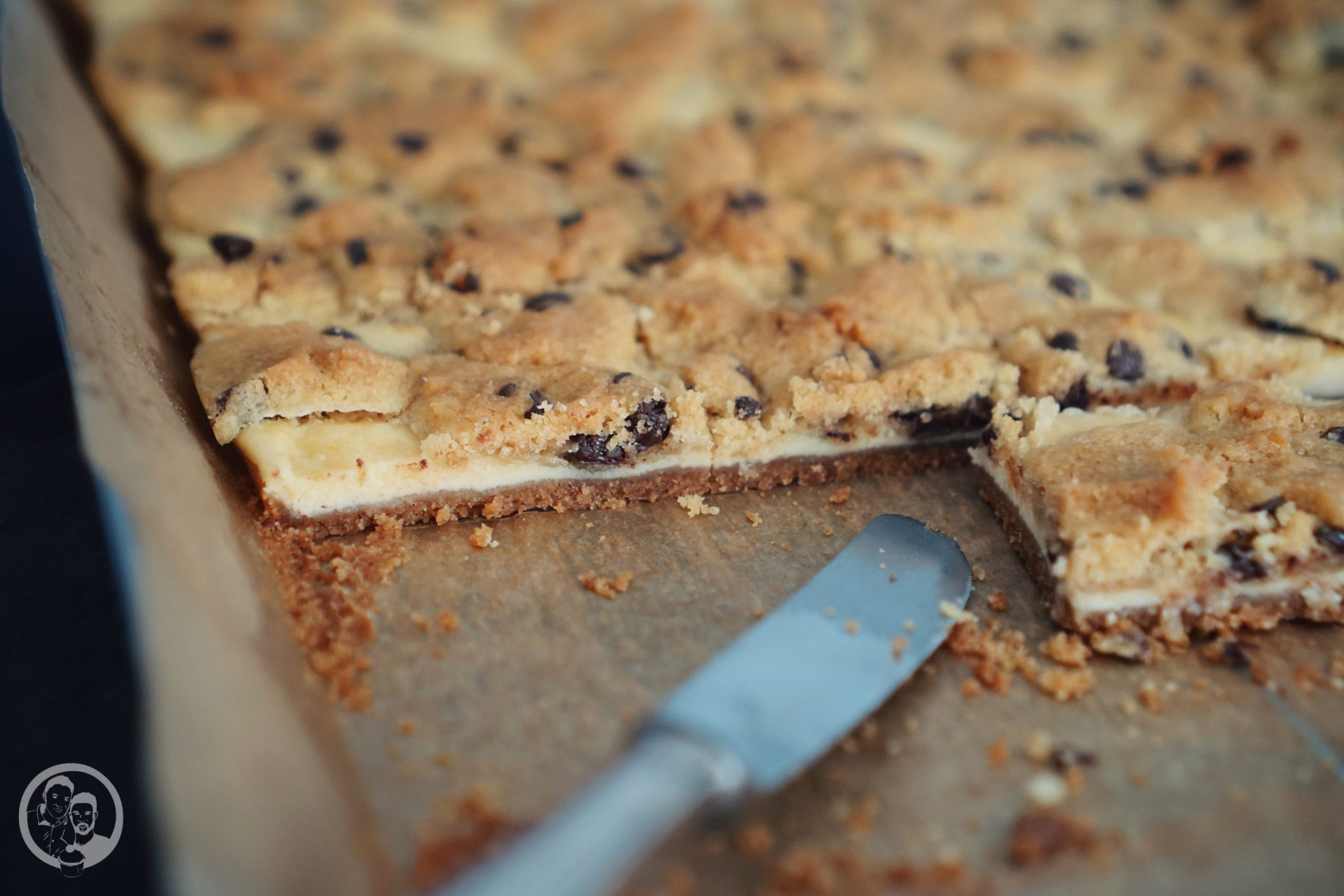 Cookie Dough Cheesecake Bars mW-2