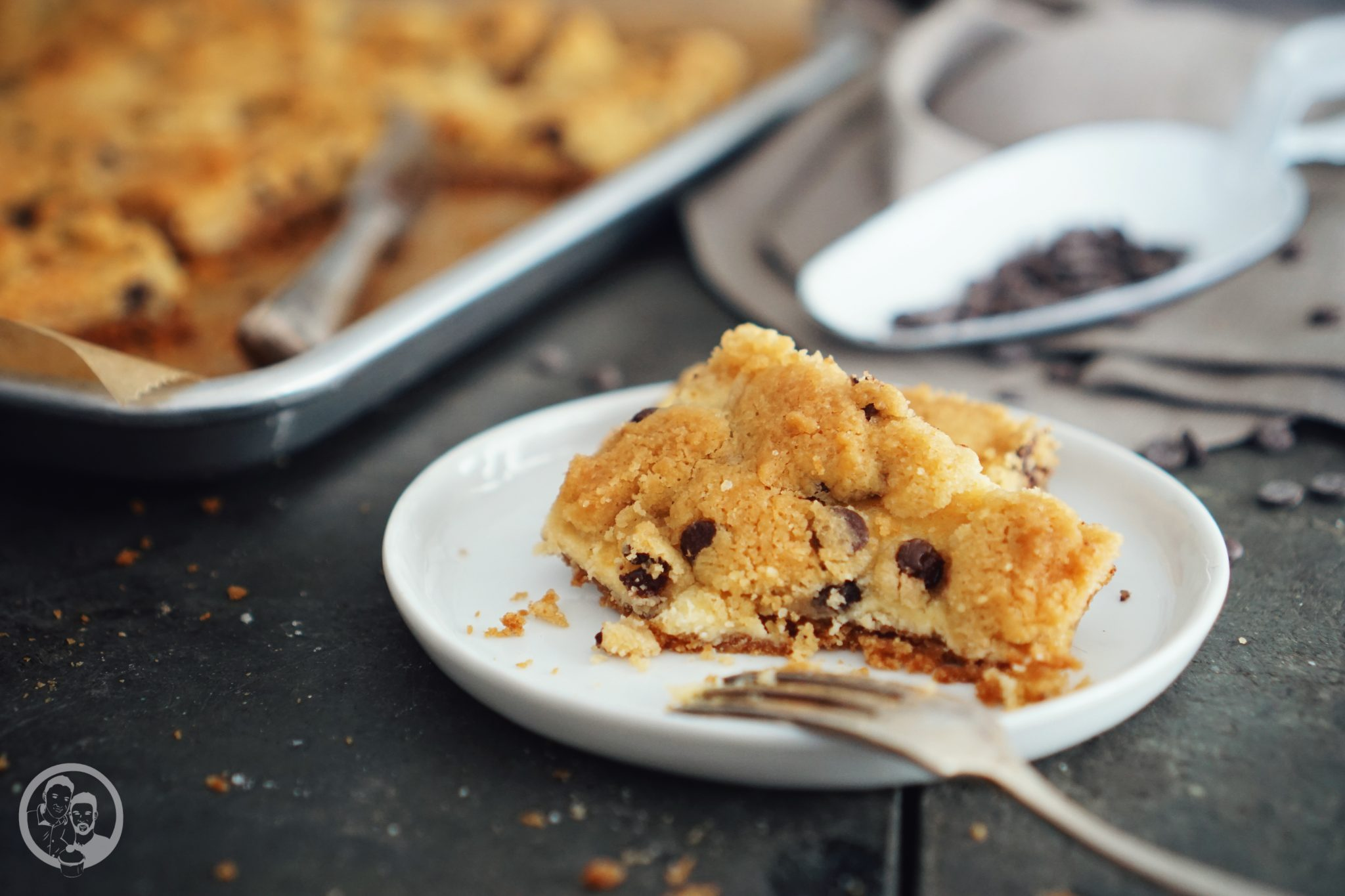 Cookie Dough Cheesecake Bars mW-7