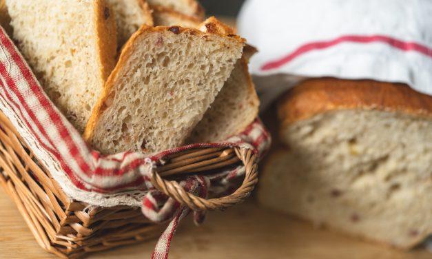 Sauerkraut – Dinkelbrot mit Speck