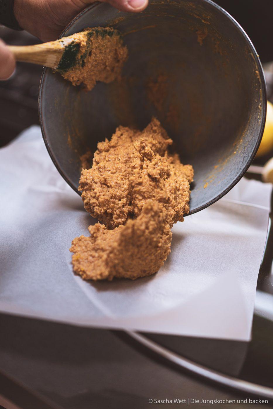 Masse für Erdnuss-Butter-Haube