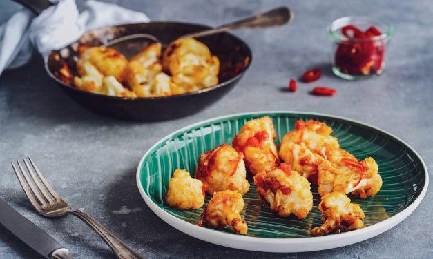 Gebratener Blumenkohl – Sweet-Chili