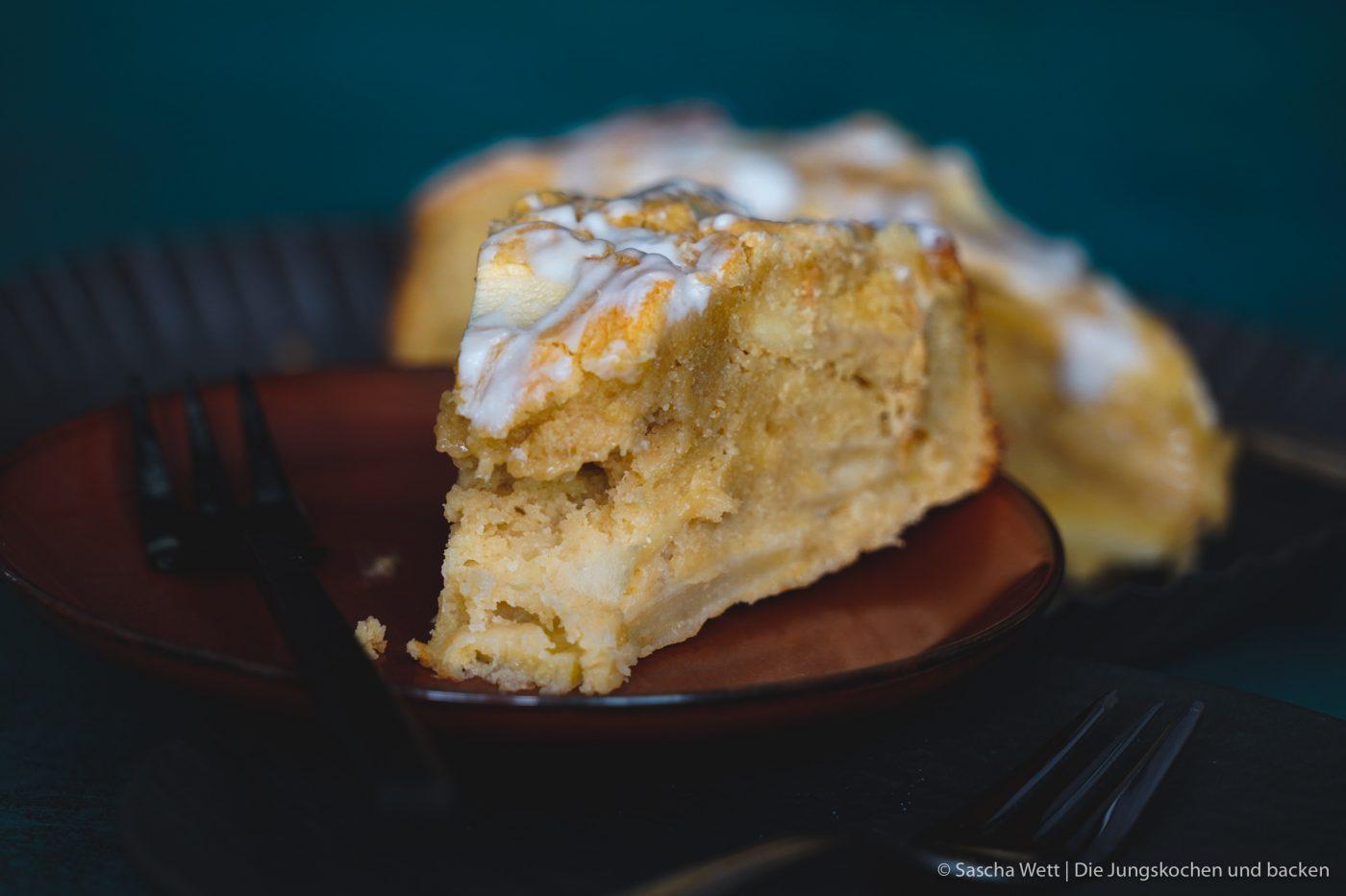 Calvados Apfelkuchen 9 | Wir haben uns gedacht, dass wir euch heute einmal wieder einen neuen Kuchen zeigen müssen. Für dieses Prachtstück haben wir sogar eine kleine Odyssee hinter uns, Aber jetzt kennen wir auch die kleinen versteckten Ecken Frankreichs. Für einen leckeren Apfelkuchen mit Calvados nimmt man sowas aber doch gerne auf sich. Oder was meint ihr?