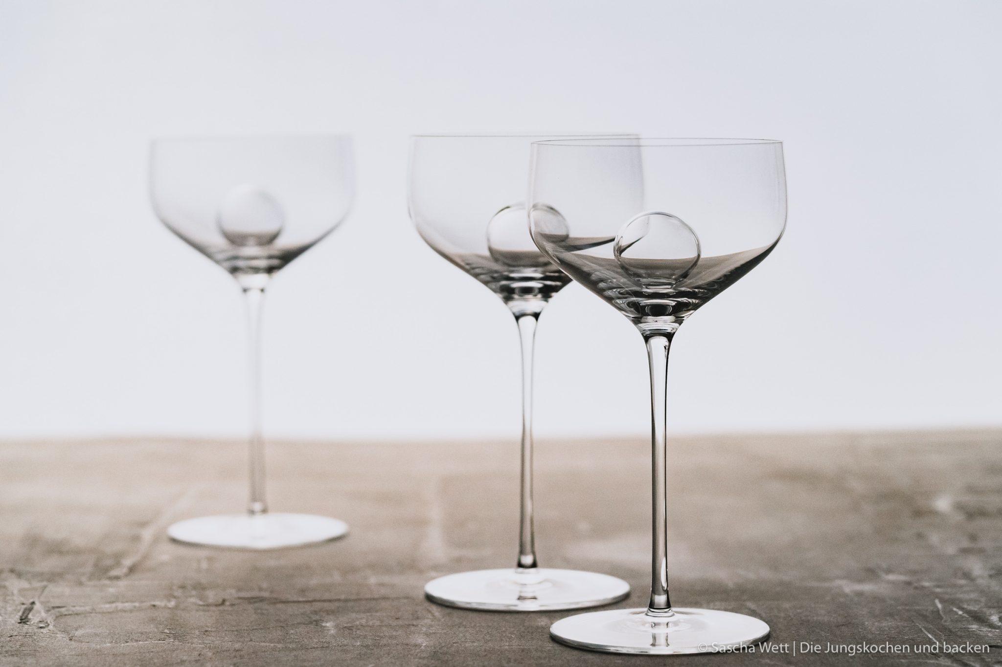 Die elegantesten mundgeblasenen Gläser weltweit.