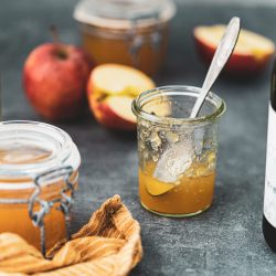 Apfelgelee mit Cidre