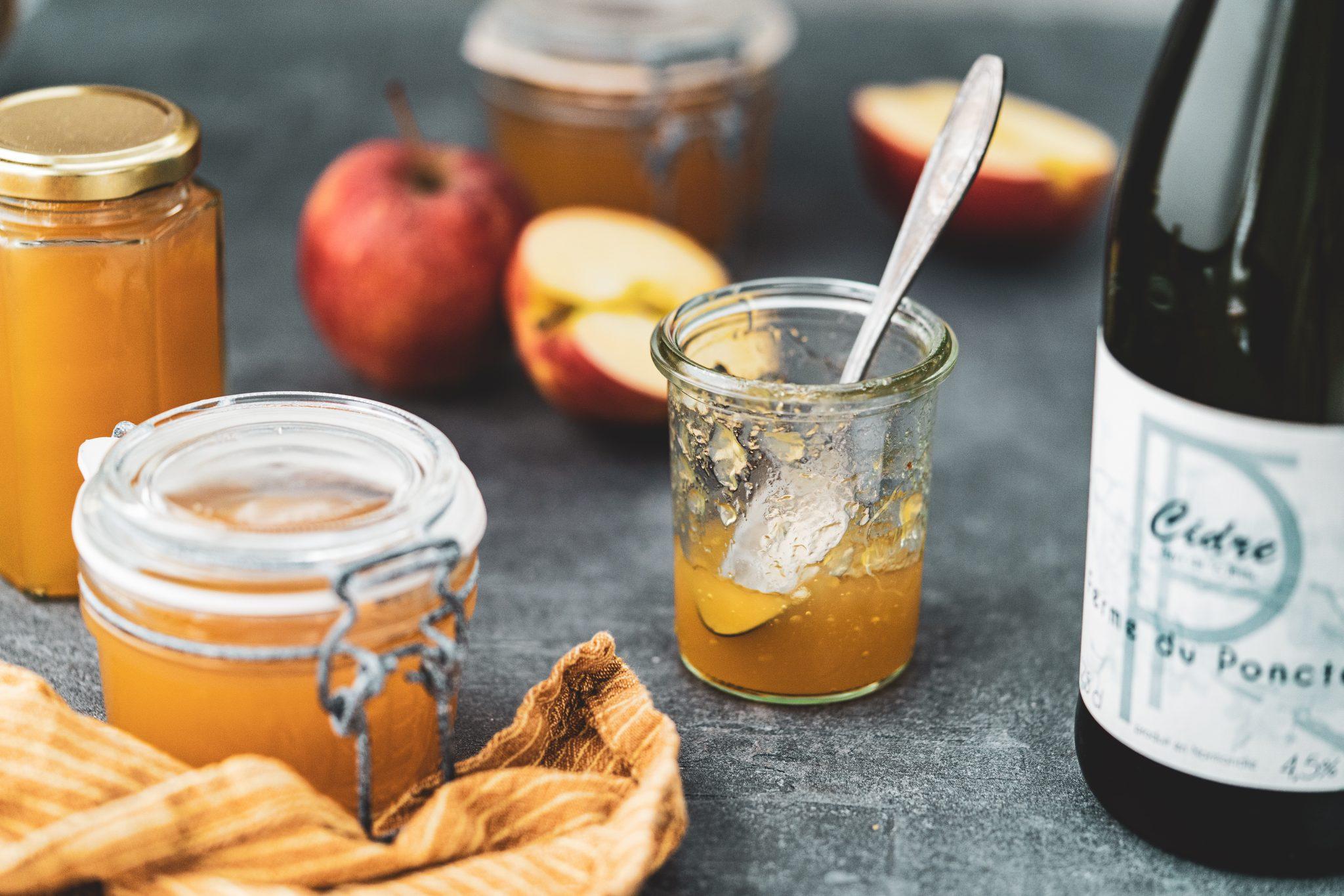 Apfelgelee mit Cidre Beitragsbild