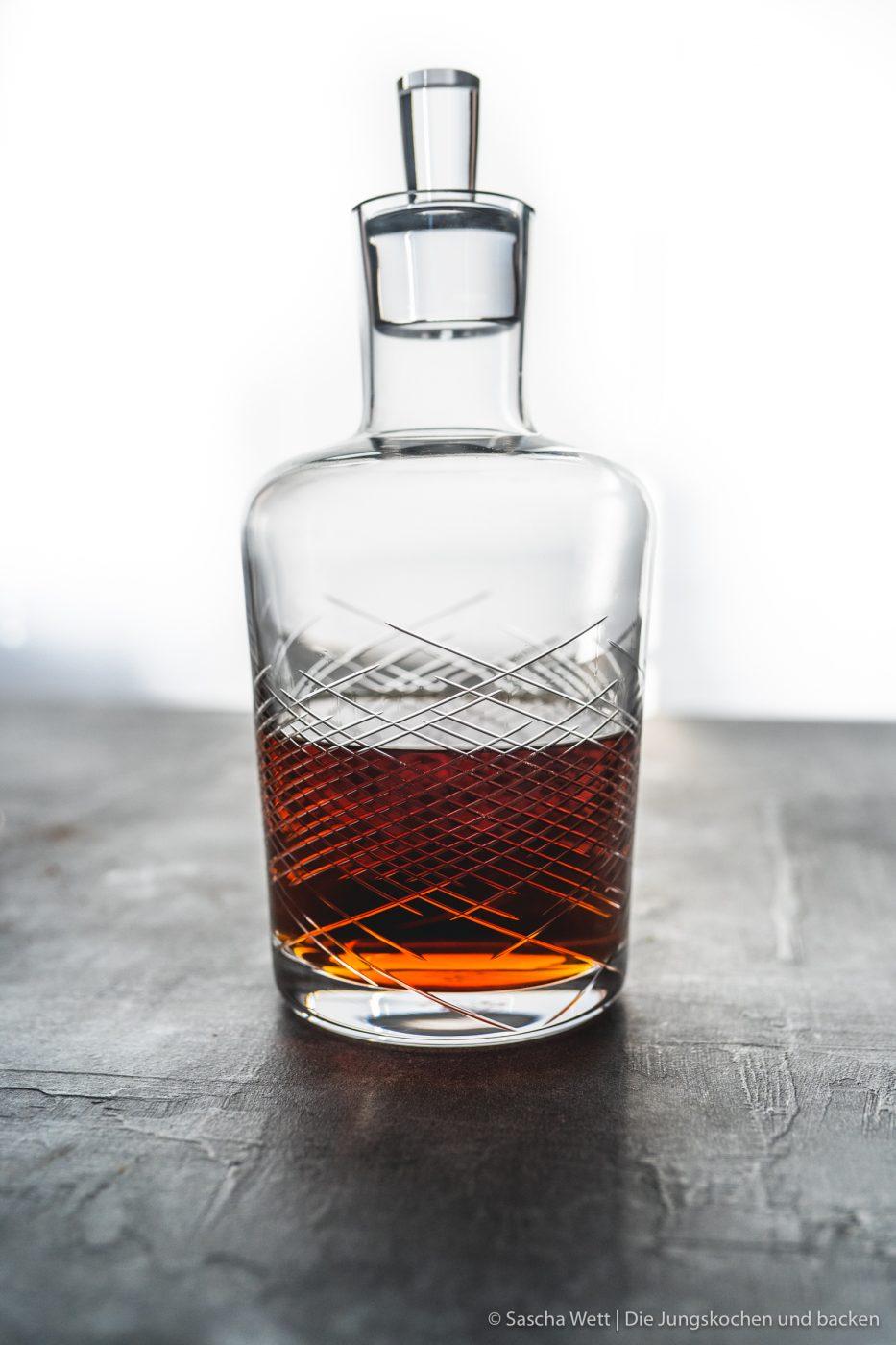 Rum in Karaffe