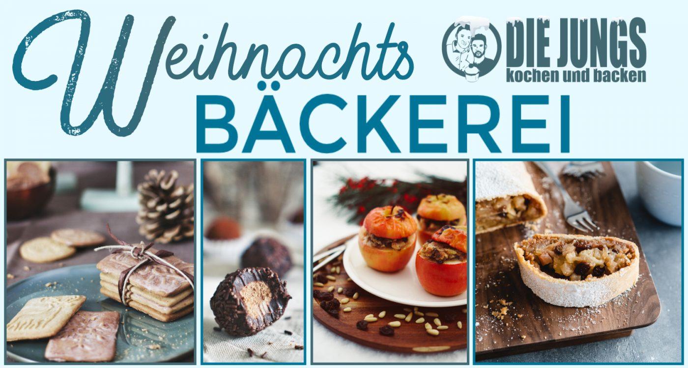 Die ultimative Rezeptsammlung zu Weihnachten. Unsere besten Rezepte aus der Weihnachtsbäckerei. Plätzchenklassiker, moderne Gebäcke und mehr. #weihnachten #rezepte #backen #plätzchen #diejungskochenundbacken