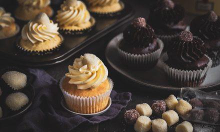 Pralinen Cupcakes