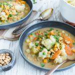 Veganer Kartoffeleintopf mit Erdnuss – Perfekt fürs Home-Office