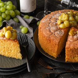 Rieslingkuchen - Unser Kuchen für die Zeit der Weinlese. So richtig saftig und fruchtig. Hier kommen nicht nur Weinliebhaber auf ihre Kosten ..!