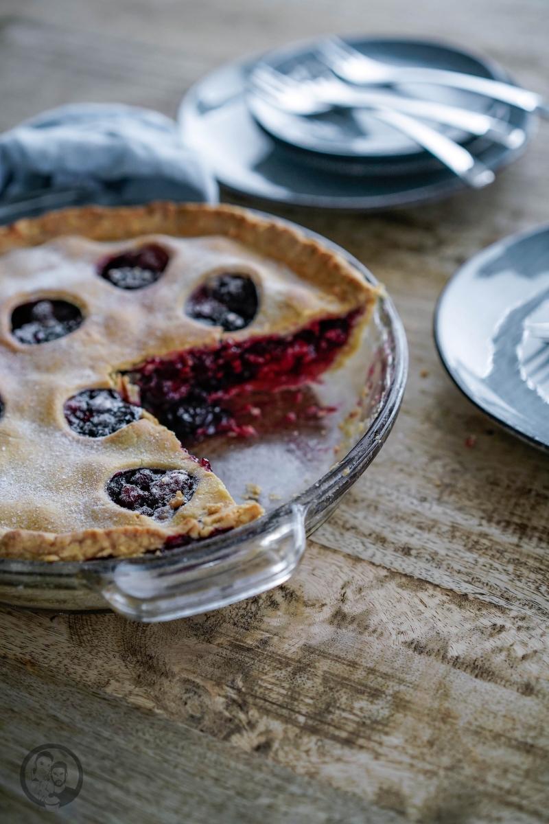 Berry Pie Anschnitt