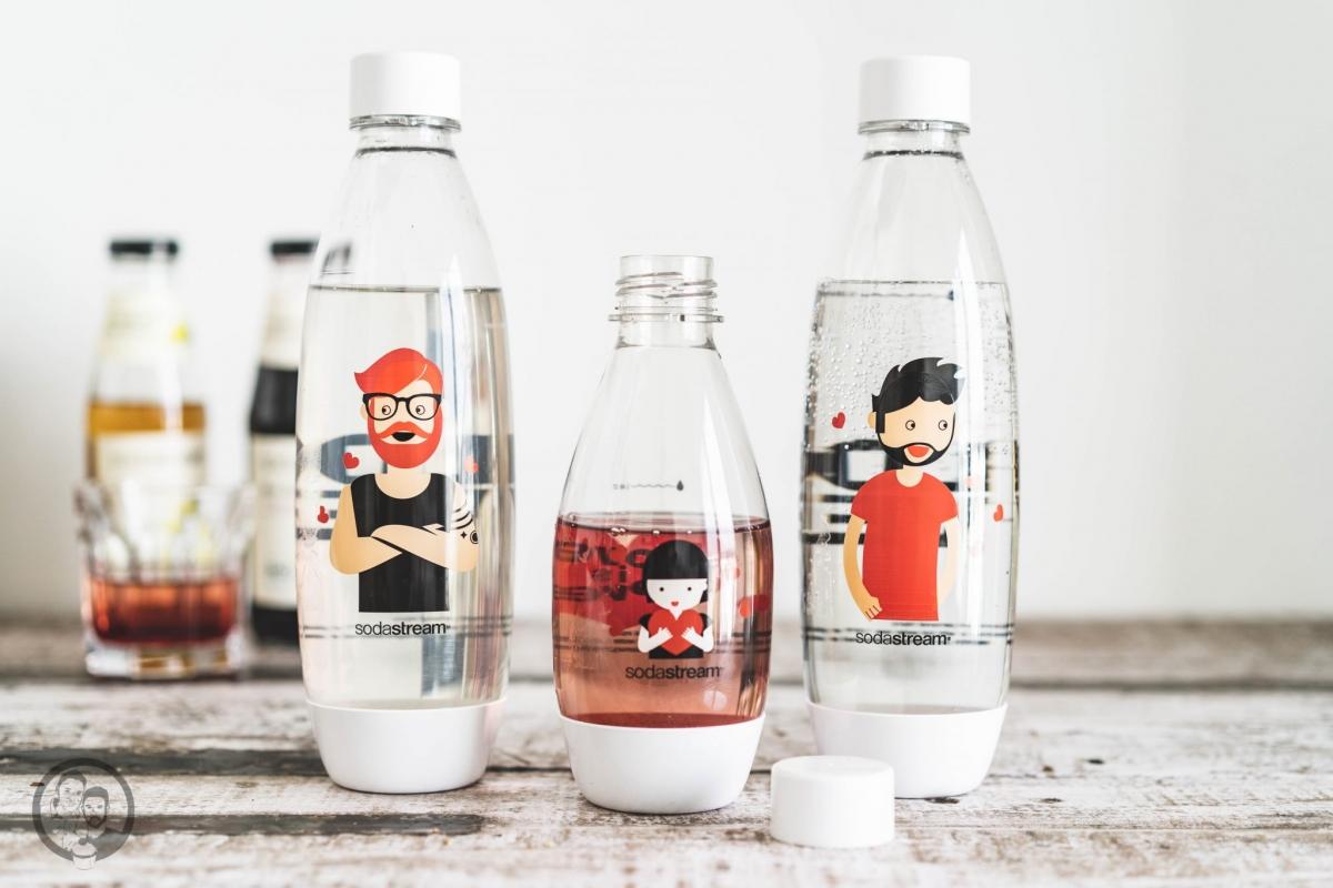 SodaStream Flaschen Love is Love